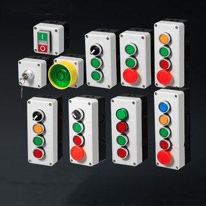 Image 2 - Button switch control box plastic hand held self starting button waterproof box electrical industrial emergency stop switch i