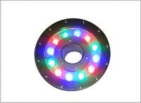 IP68 waterproof AC12V 18W 3 in 1 rgb led pool lamp led fountain lighting Applicable in chlorine(fresh) or Salt(sea) water