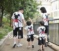 3шт / lot микки минни семья одежда для младенцев лето семья комплект одежда, Короткая - рукав футболки семья