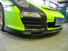 Front Lip Designed For Carrera 997 Of The EM  Style  Carbon Fiber  Front Diffuser