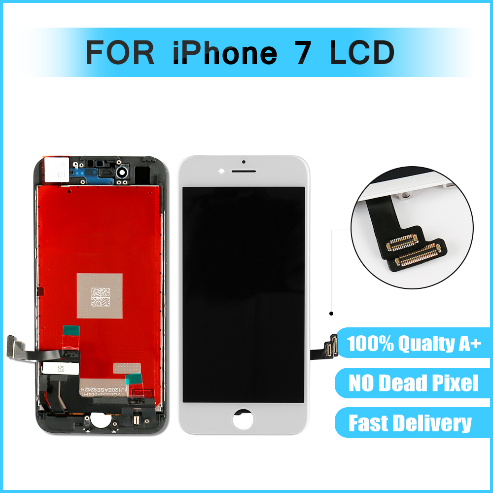 Lcd-Screen Display-Assembly IPhone 7 Replacement Digitizer Touch For With White Black