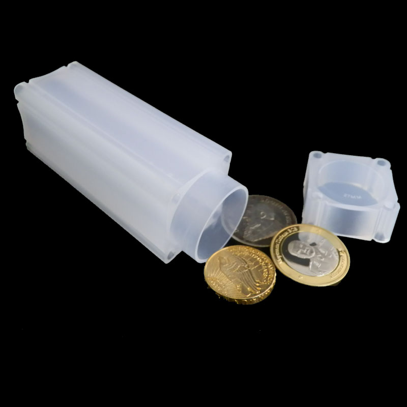 5PCs PCCB High Quality Acrylic Coin Capsules Holder Case 40mm For Silver Dollar