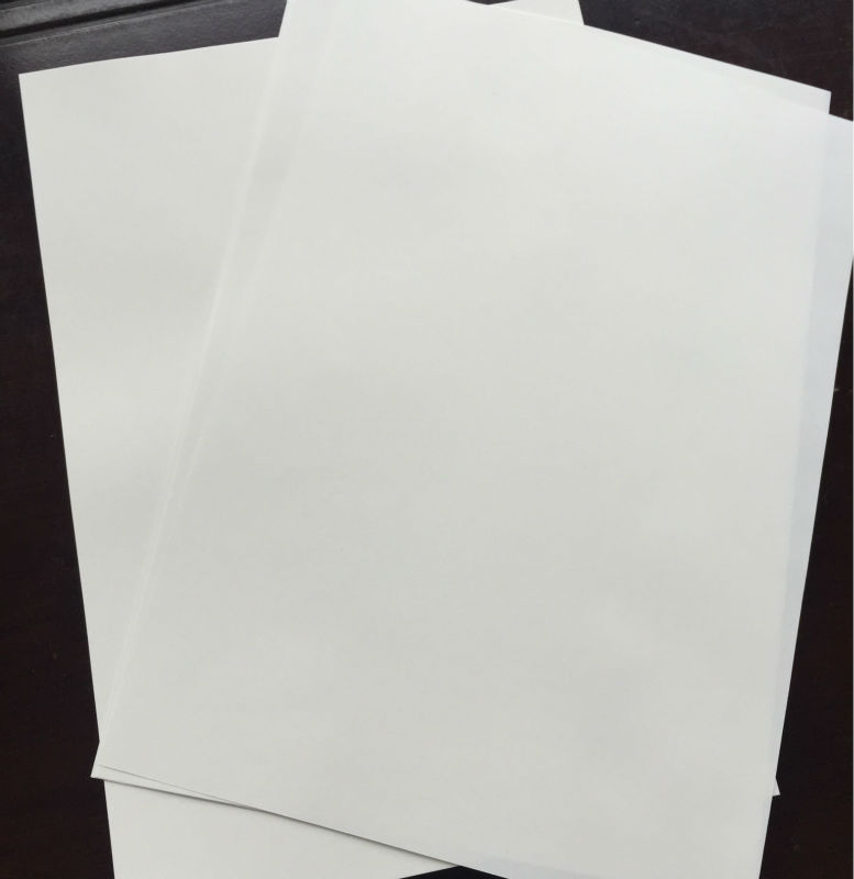 200 sheets 100  cotton resume paper  210 297mm  white