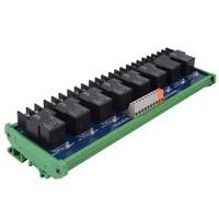 8 way Omron single open 24V30A relay module, original product PLC control board