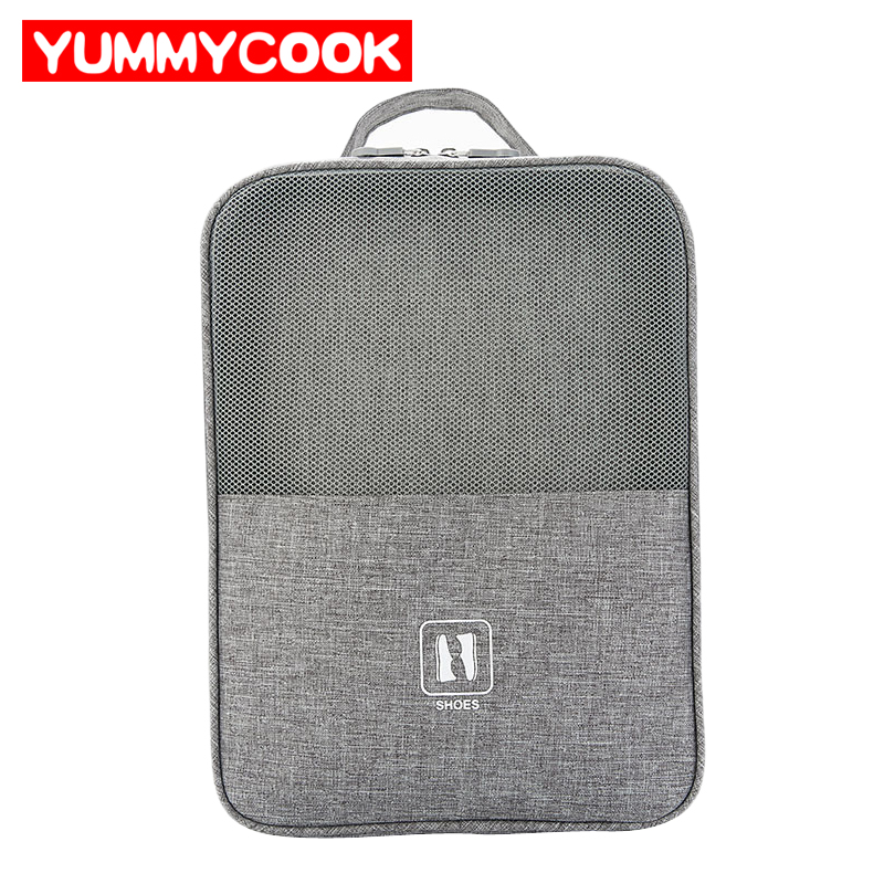 YUMMYCOOK Portable Shoes Bags Travel Underwear Clothes