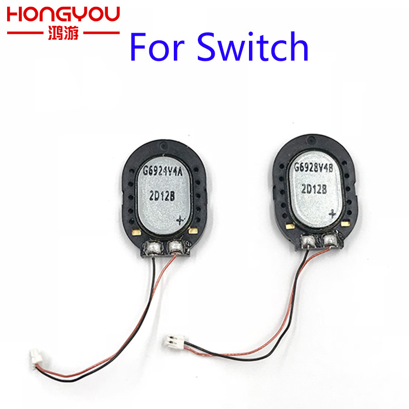 2Pcs Original For Nintend Switch NS Switch Console Speaker Audio Volume Button Replacement Parts Built-in Speaker
