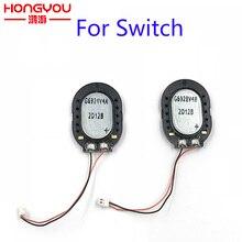 Piezas de repuesto para altavoz de consola Nintendo switch, 2 uds., Original, botón de volumen de Audio, altavoz incorporado