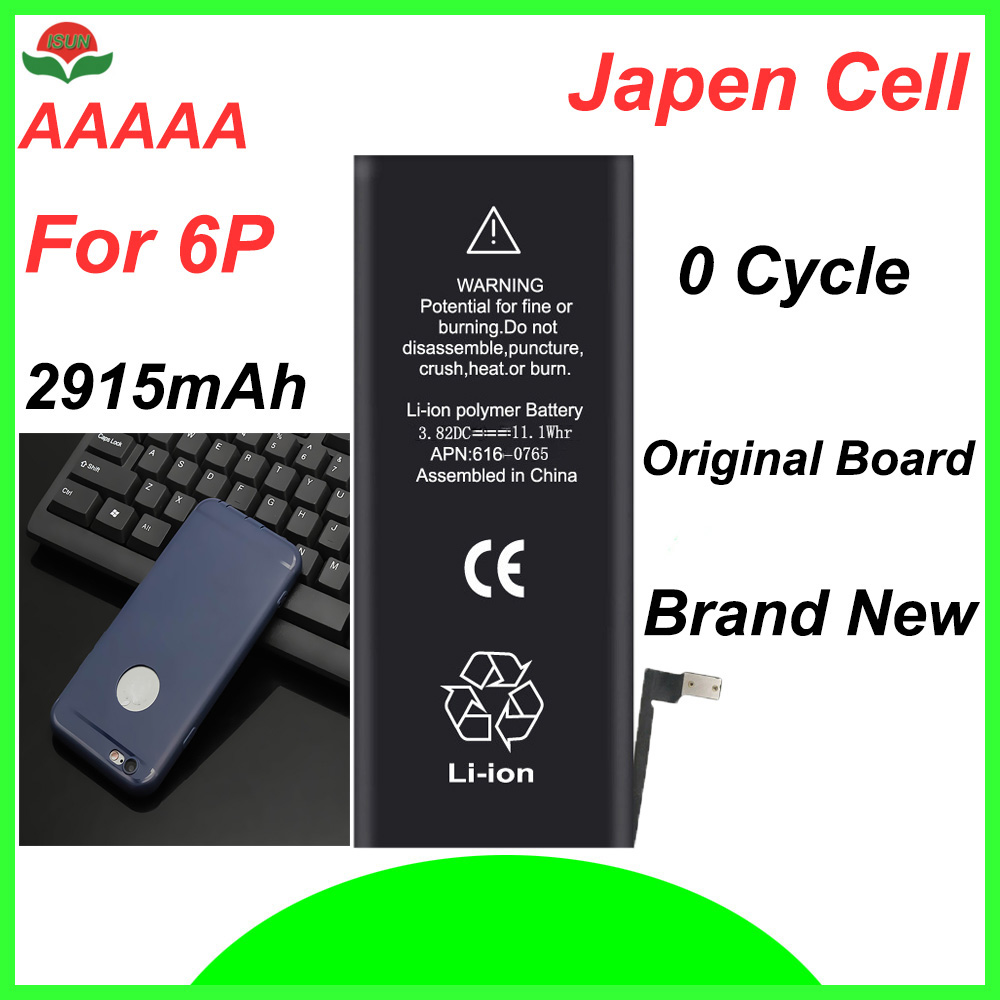 Mobile-Battery Battery-Replacement Phone-Case 6plus Original For 2915mah With Free ISUN