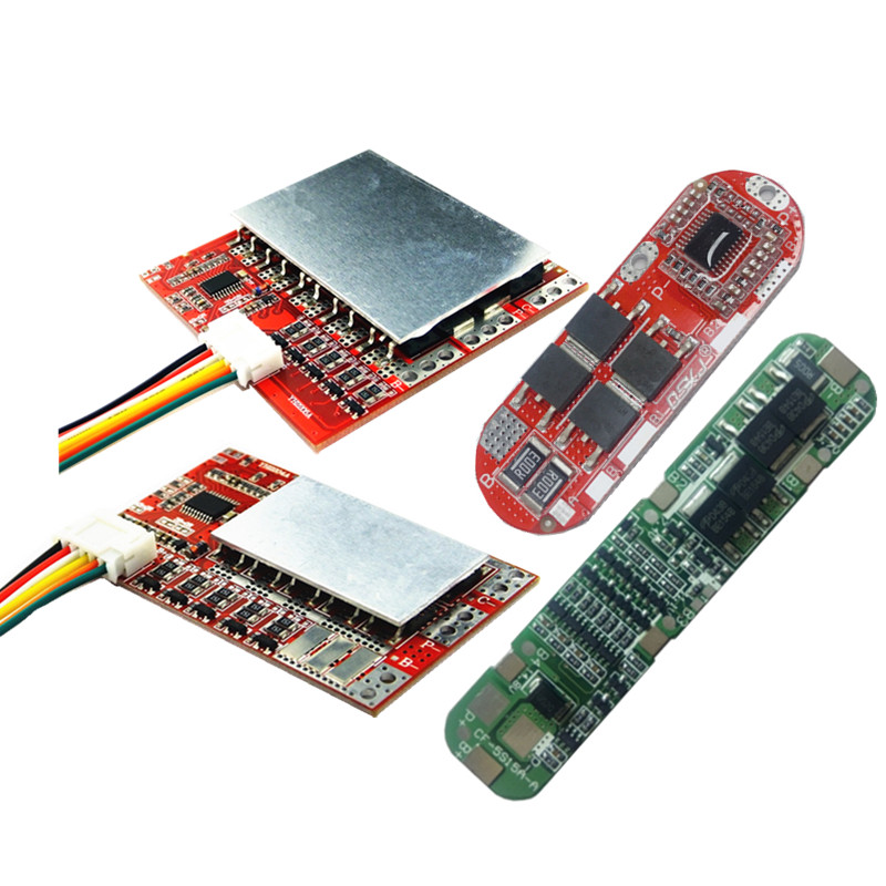 BMS 5S 12A 20A 50A 100A 21V 3.7V Lithium Battery Protection Board/3.2V Iron Phosphate/LiFePO4 Battery BMS Board With Balance