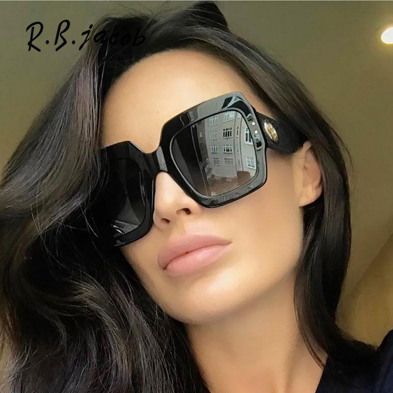 2017 Fashion Oversize Women Sunglasses Brand Designed Hipster Charm Lady Sun Glasses High Quality Goggle Vintage UV400 Hot Sale