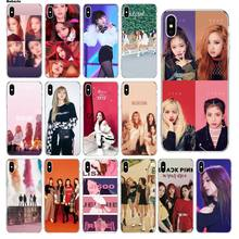 Babaite BLACK PINK BLACKPINK kpop collage Ultra Thin Pattern Phone Case for Apple iPhone 5 5S SE 6 6S Plus 7 8 X XS MAX XR Cover(China)