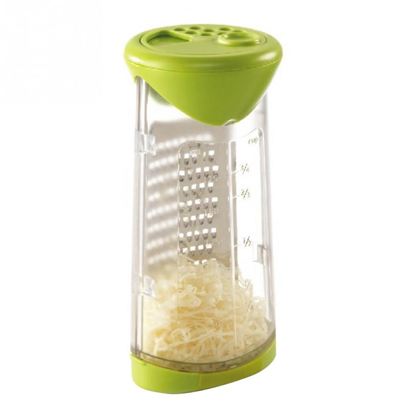 ABS Stainless Cheese Grater Butter Mincer Grinder Baby Food Supplement Mill Fruits Vegetable Shredder Slicer Kitchen Tools image