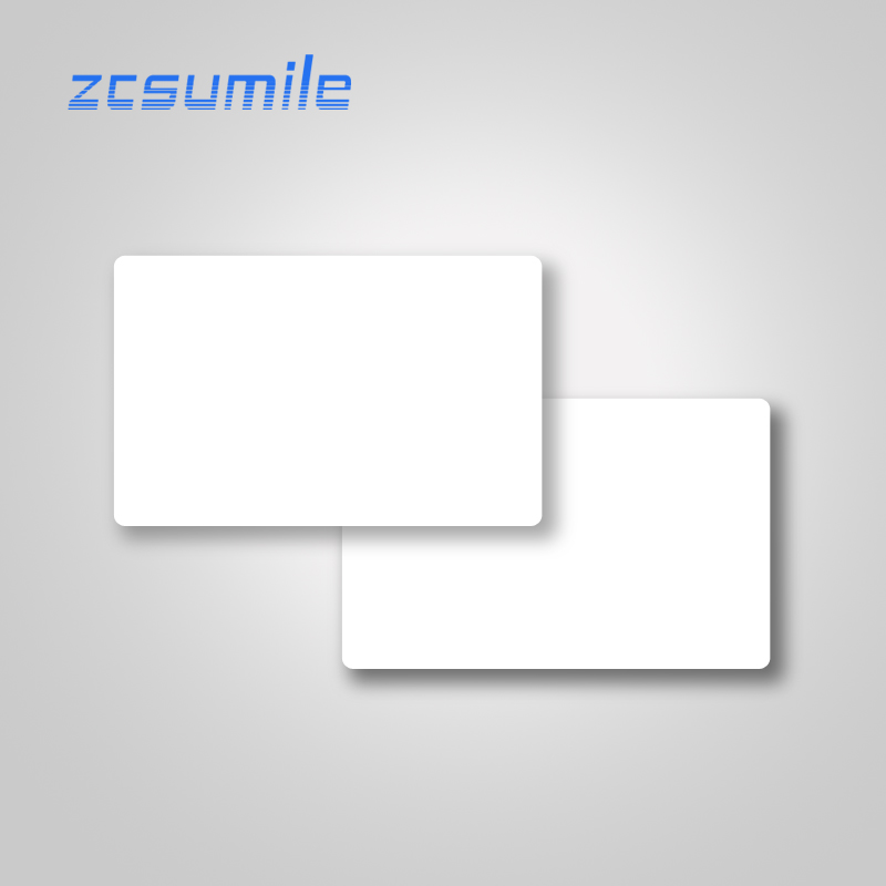 10pcs/lot Nfc 213 Sticker 13.56mhz Rfid White PVC Blank  Card Contactless IC Card NFC Tag For All NFC Enabled Phones