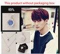 KPOP EXO-M EXO-K Chanyeol EXO Baekhyun K-POP 2016 Nova Moda Jóias de Cristal Pingente Camisola Cadeia Colar Para Homens E Mulheres
