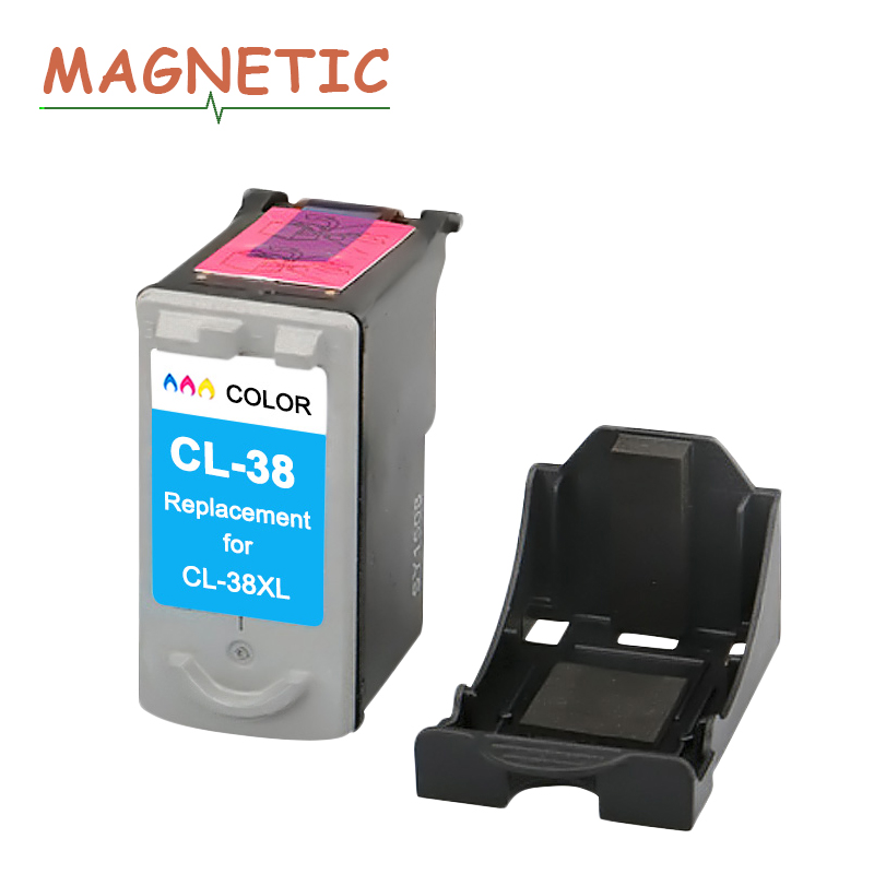 CL-38 Tri-color Ink Cartridge for <font><b>Canon</b></font> CL38 <font><b>PG</b></font> <font><b>37</b></font> CL 38 PIXMA MP140 MP190 MP210 MP220 MP420 IP1800 IP2600 MX300 MX310 printer image