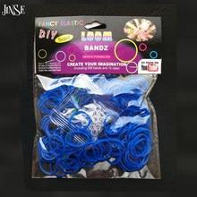 038f26c83c3a Moda DIY pulsera de goma telar bandas de goma de colores DIY avecina jalea  pulseras (300 bandas 12 S clips + 1 gancho) color sól.