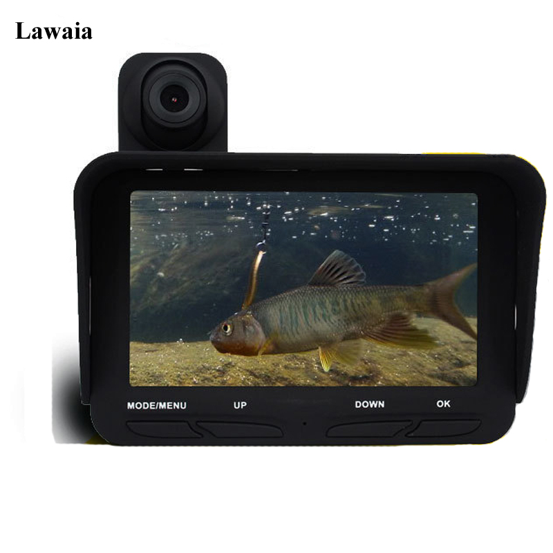Lawaia Fish Finder HD Video Recording Underwater Visual Camera Monitor To Find Fish Waterproof Fish Finder Underwater Detector chinese version of the high precision sonar fish finder to find fish finder visual muddy water available measuring fish finder f