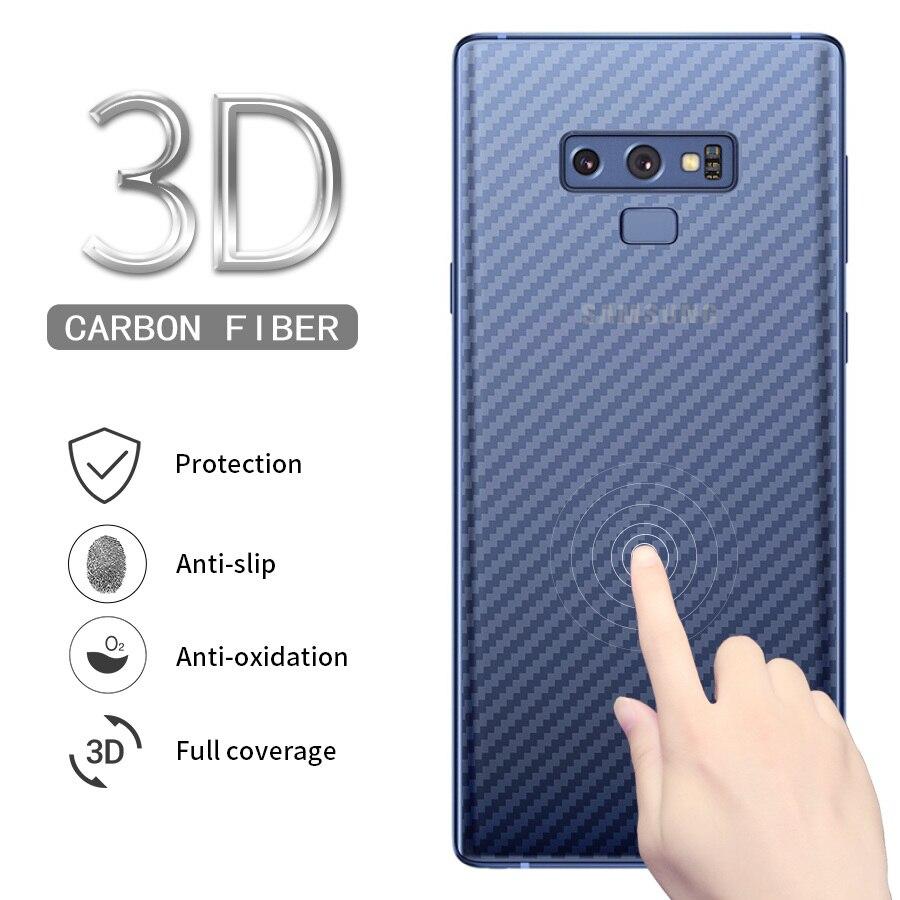 IMIDO 5pcs Full Cover Carbon Fiber Screen Protector For Sams