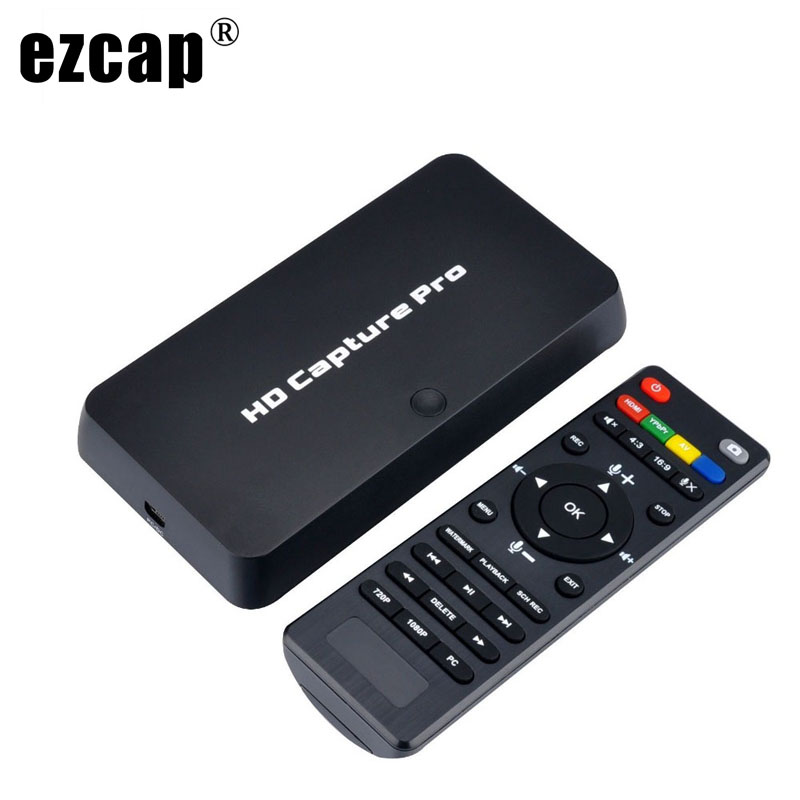 HDMI YPbPr CVBS Video Record Capture Box Schedual Recording Playback TV Computer Game Recording Capture Card