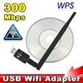 300 Мбит USB адаптер Wifi USB 2.0 беспроводной 2.4 ГГц сети сетевой карты антенна для Windows XP / Vista / 7 Linux для Mac OS X