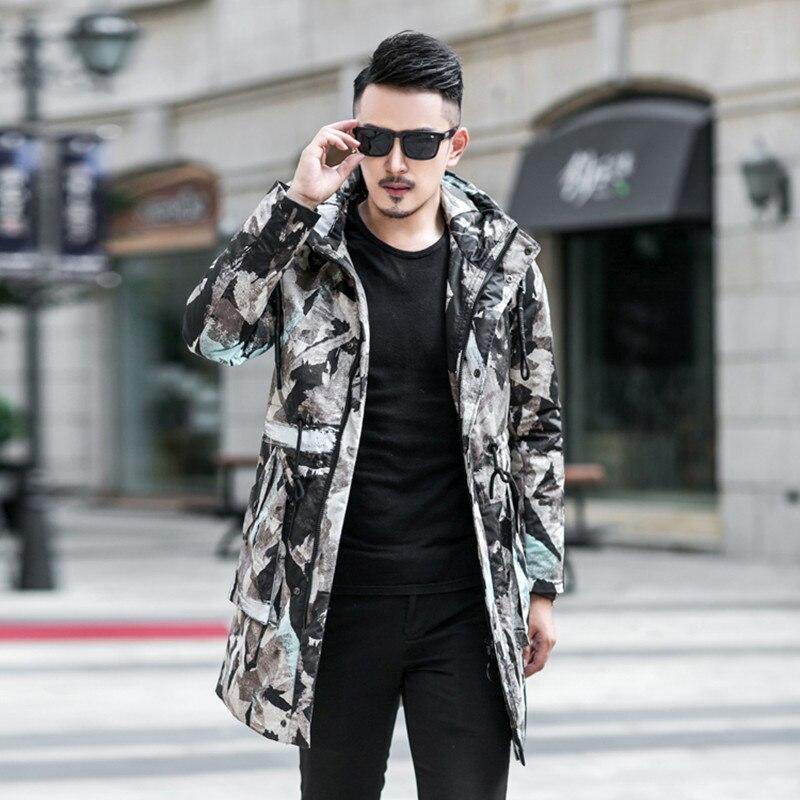 Canard Chaud Hommes Hommes Veste Qualité De Vestes Multi Hiver D'hiver 90 Duvet Camouflage Blanc Nouveau Down Haute 2018 Manteau Style 7wBEUB