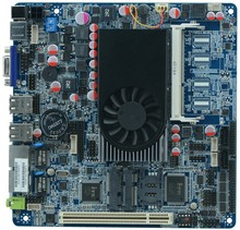 I5 3317U MINI Fanless PC all in one motherboard 2*VGA/1*SO DDRIII/3* SATAII 2 LAN 6 COM