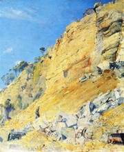 The Quarry, Maria Island - By Tom Roberts - Unframed