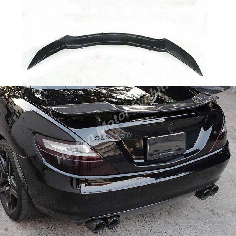 Rowen stile fibra di Carbonio posteriore tronco spoiler ala per Mercedes Benz R172 SLK250 SLK200 SLK350 2012 ~ 2015