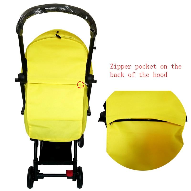 Oxford Cloth BABYYOYA Poussette Stroller 175 degrees Sombra del sol - Actividad y equipamiento para niños - foto 6