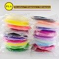Нить Пластик PLA! Для 3D ручки или 3D-принтера/оригинальный Weiyu пластик/много цветов 1 75 мм 60 м/110 м/160 м/из России