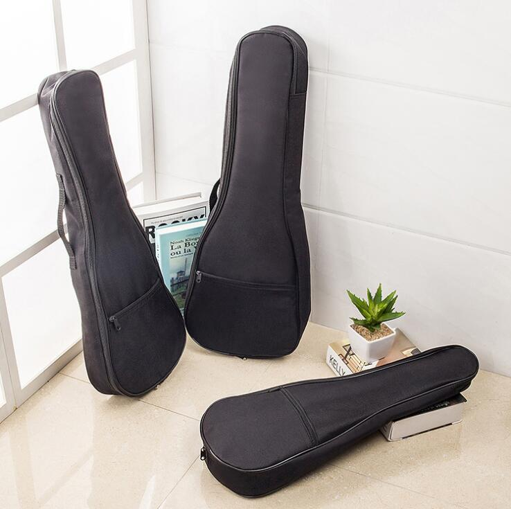 Top Quality Ukulele Bag for 21inch 23 inch Ukelele With Cotton Padding Hawaii Children Small Guitar Bag Cover Ukulele Case 21 inch colorful ukulele bag 10mm cotton soft case gig bag mini guitar ukelele backpack 2 colors optional