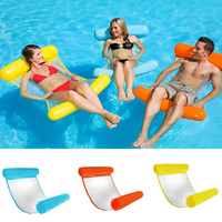 New Water Hammocks Beach Inflatable Float Solid Inflatable Raft Unisex PVC Air Mattress Grown up toy Swimming Pool Accessories
