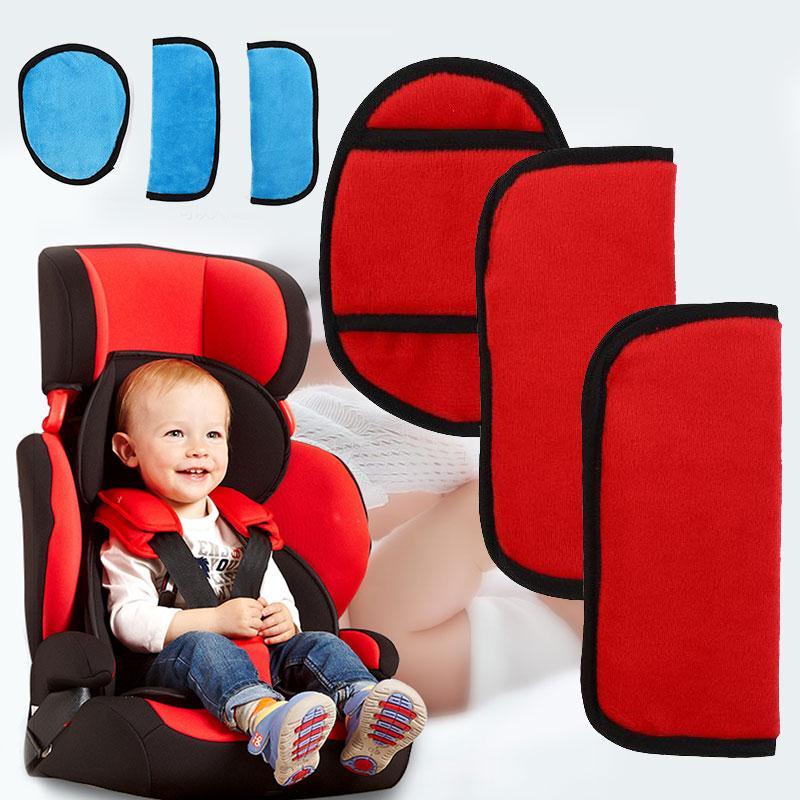 3 Unids / set Bebé Niños Cochecito Cojín Auto Asiento de Vehículo - Actividad y equipamiento para niños