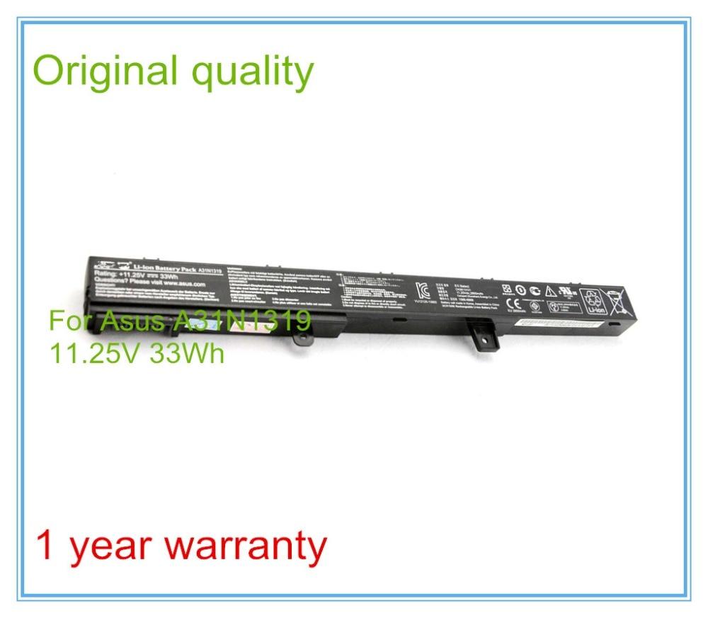 11.25V 33Wh Original Battery A31N1319 for X451 X551 X451C X451CA X551CA 0B110 00250100 A41N1308