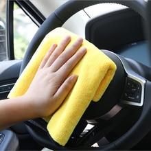 Полотенце из микрофибры для автомобиля Очищающая высушивающая ткань для mazda 3 seat ibiza honda civic 2006-2011 seat leon toyota corolla 2008