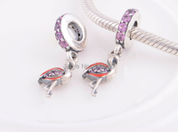 Fits For European Bracelets Night Sky Blue Enamel Silver Beads New Original Authentic 925 Sterling Silver