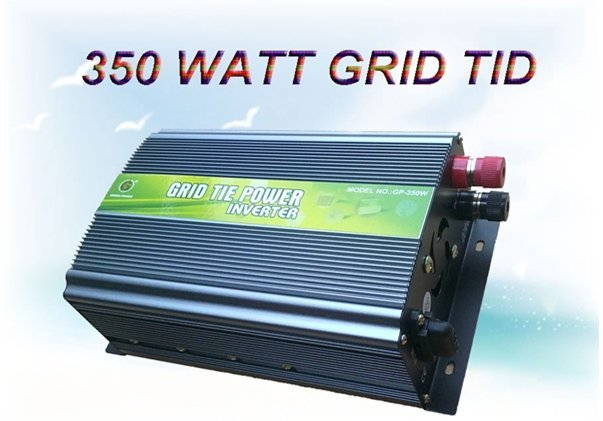 350W Grid Tie  Power Inverter  for Solar Power 28V-52V DC - 110V AC(Free Shipping,Reliability Quality,High Efficiency)
