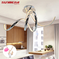 Современные светодиодные хрустальные алюминиевые потолочные светильники plafonnier  светодиодные потолочные светильники для гостиной  кухни  ...