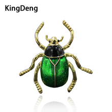 Insect Brooches For Women Black Enamel Pins Cute Gifts For Kids Lapel Pin Up Beautiful Men Green Hope Jewelry  Enamel Brooch cute brooch green enamel cactus brooches