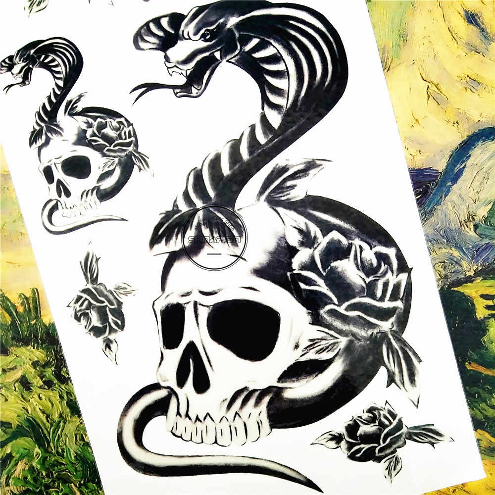 SHNAPIGN-Salamander-Snake-Skull-Temporary-Tattoo-Body-Art-Arm-Flash-Tattoo-Stickers-17-10cm-Waterproof-Fake.jpg_q50.jpg