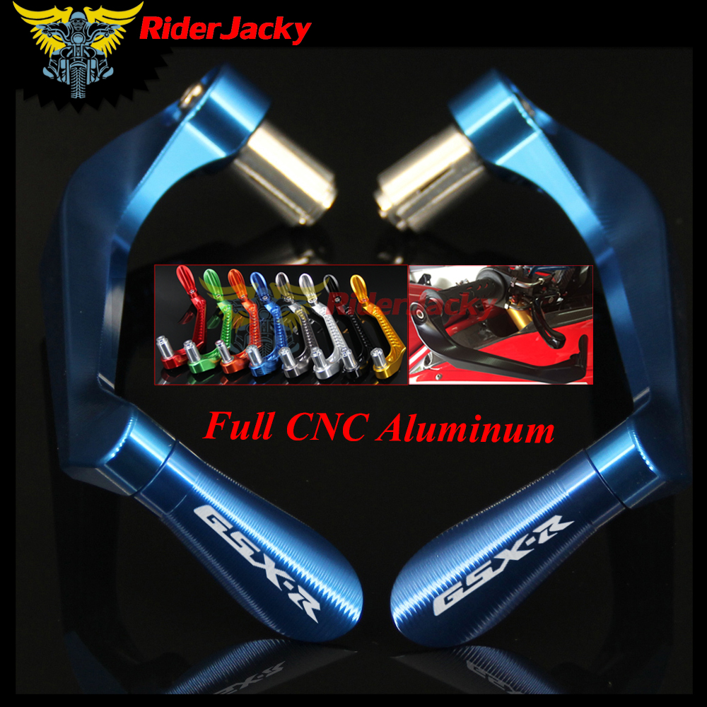RiderJacky For SUZUKI GSXR 600 750 1000 K4 K5 K6 K7 K8 K9 7/8 22mm Motorcycle CNC Handlebar Brake Clutch Levers Protector Guard high quality cnc aluminum motorcycle adjustable brake clutch levers for suzuki sv650 s 99 09 dl650 v strom 04 10 600 750 katana page 8