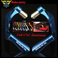 RiderJacky For SUZUKI GSXR 600 750 1000 K4 K5 K6 K7 K8 K9 7/8 22mm Motorcycle CNC Handlebar Brake Clutch Levers Protector Guard