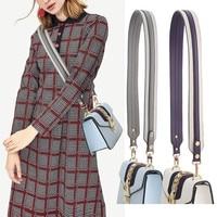 Fashion Camouflage Strap Genuine Leather Female Multicolor Handle Shoulder bags Straps Belt Accessories for Women Bag 100cm