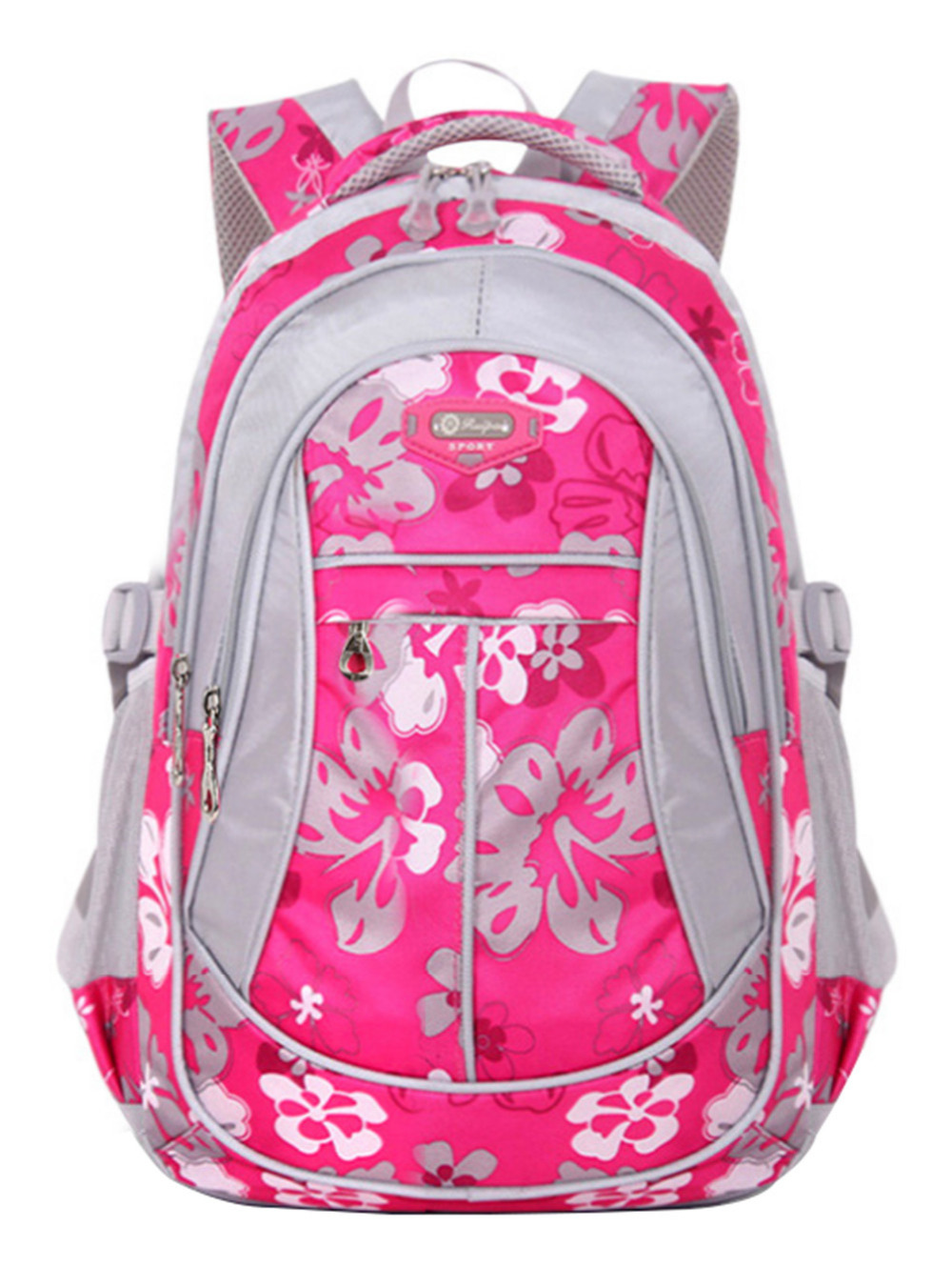 Children School Bags For Girls Boys New Floral Printing Backpack Kids Book Bag Primary School Student