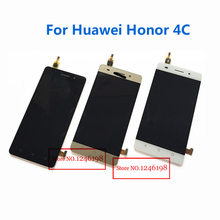 White/Black/Gold Full LCD Display + Touch Screen Digitizer Assembly For Huawei Honor 4C Replacement Parts