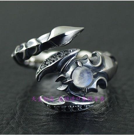 лучшая цена Thailand import scorpion modelling opening 925 sterling silver ring