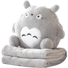 Pillow Quilt Cushion Office Lunch Cute Car Warmer Air Conditioning Blanket
