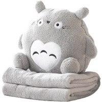 Travesseiro Colcha Almofada Travesseiro Escritório Almoço Travesseiro Bonito Travesseiro Mais Quente Almofada de Ar Condicionado Do Carro Cobertor