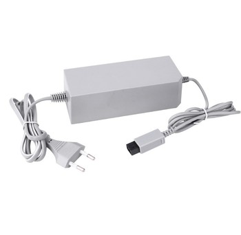 50pcs lots US/EU AC Adapter 100 - 240V 12V 3.7A Wall Power Charger Supply for Nintendo Wii Gamepad Controller
