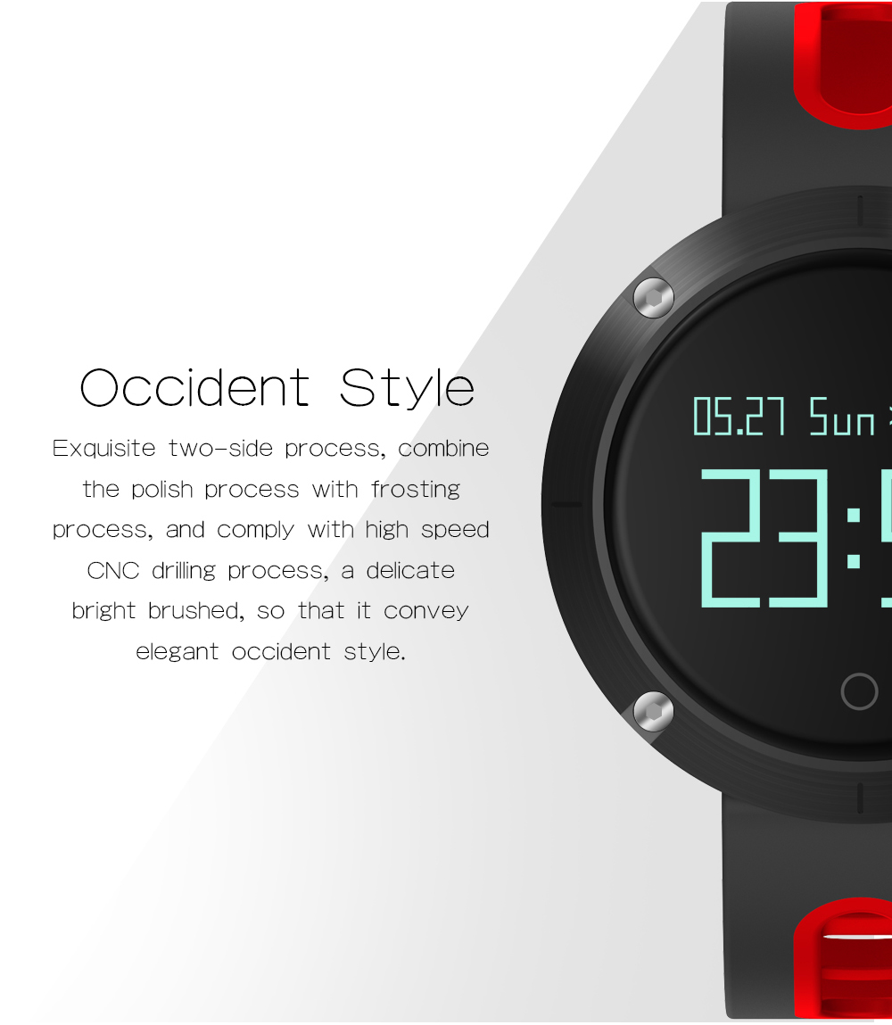 MAKIBES DM58 BLUETOOTH SPORTS HEART RATE SMART BAND WITH BLOOD PRESSURE MONITOR IP68 WATERPROOF WRISTBAND 237054 35